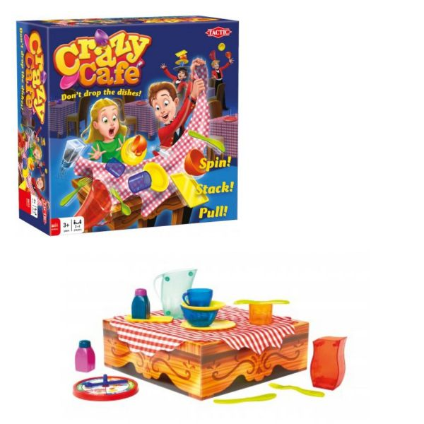 Crazy Cafe Family Kids Board Game By Tactic Games